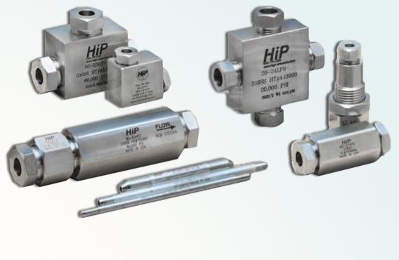 High Pressure Fittings, Valves & Tubing