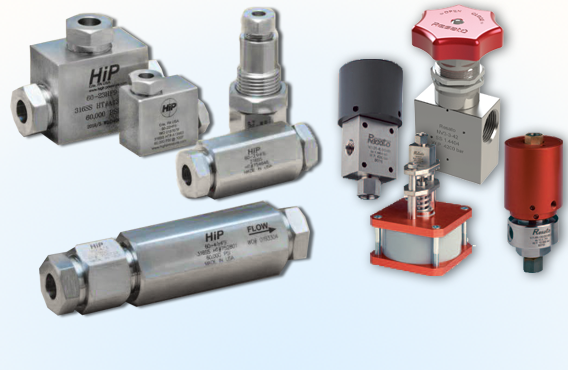 High Pressure Fittings, Valves & Tubing