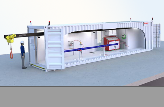 Containerized Pressure Test Bay PPU
